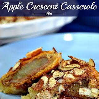Apple Crescent Casserole.
