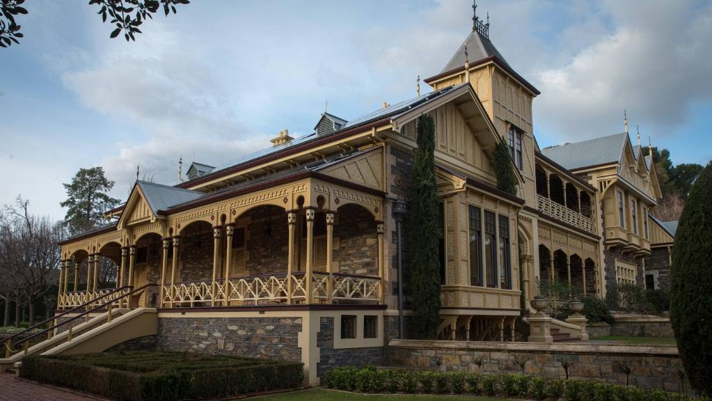 Springfield House, Adelaide with Tudor style second floor addition