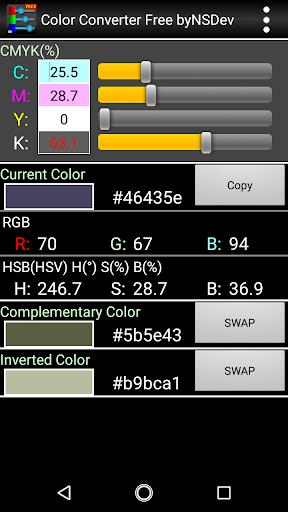 Color Converter Free byNSDev 1.0.2 Windows u7528 2