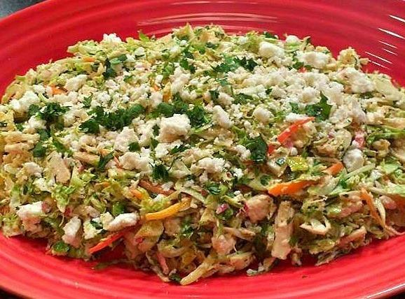 Mexican Brussels Sprout Slaw Recipe