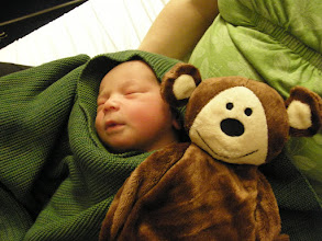 Photo: Thanks Marie & Isabelle for the monkey!