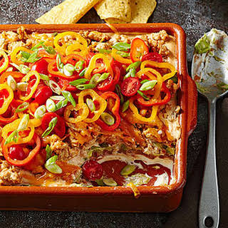 Light and Layered Taco Dip.