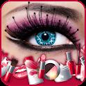 Maquillaje realista icon
