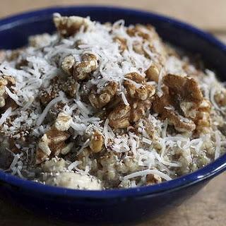 Warming Coconut Quinoa Porridge