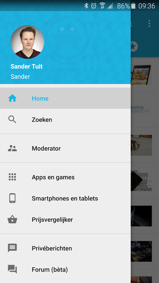 AW Reader: news & apps [Dutch]- screenshot