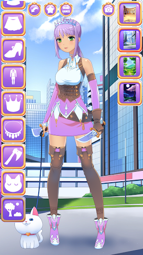 Anime Fantasy Dress Up - RPG Avatar Maker  screenshots 1