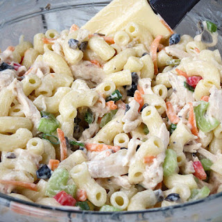 Chicken Macaroni Salad Recipe (Filipino Style)