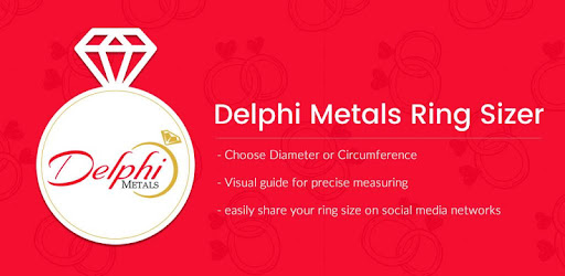 Ring sizer from Delphi Metals - Apps on Google Play