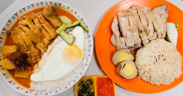 Selamat datang 馬來西亞料理 成大附近熱門異國小吃~ 海南雞飯、咖哩雞飯都好吃!