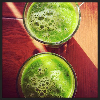 'Rise & Shine' Green Juice