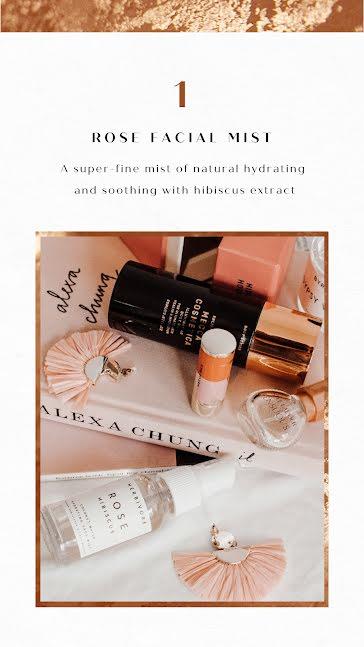 Rose Facial Mist - Instagram Story Template