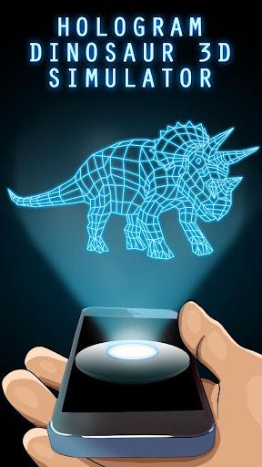 Hologram Dinosaur 3D Simulator for PC