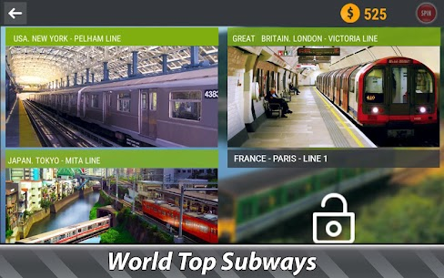 World Subways Simulator MOD APK 1.4.2 [Unlimited Money] 4