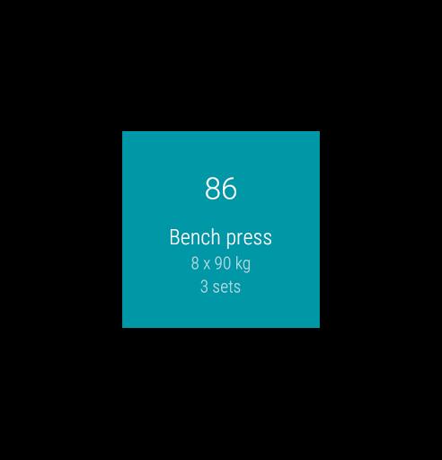 Redy Gym Log, Exercise Tracker screenshot 8