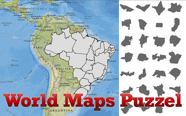 World Maps Puzzle