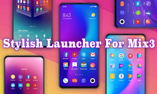MIX Launcher 2019 5
