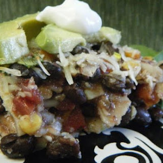 Mexican Black Bean Casserole.