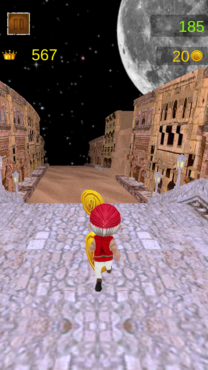 Скриншот Temple Arabian Nights Run 3D