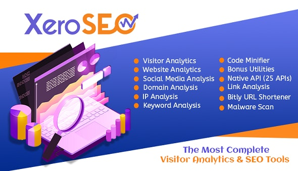 XeroSEO - The Most Complete Visitor Analytics & SEO Tools - CodeCanyon Item for Sale