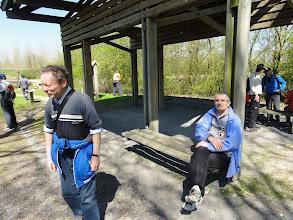 Photo: Bij Daniel stapte ik de 150 km in en om Doornik mee