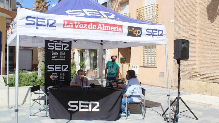 El alcalde de Pulpí, Juan Pedro García, entrevistado por Alfredo Casas en Hoy por Hoy Almería.
