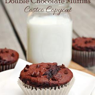 Double Chocolate Muffins (Costco Copycat Recipe).