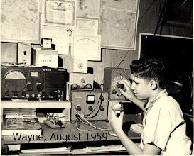 Photo: K9OVI in 1959