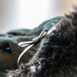 Bowed Gloves by Kathy Suttles - Artistic Objects Clothing & Accessories