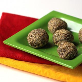 Dark Chocolate Truffles with Wheat Germ