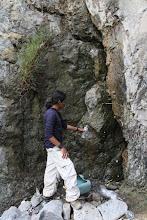 Photo: La fuente de agua de Carrizales Quilca - Matarani 23-25 de Nov. (2013)