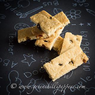 Raisin Butter Cookies