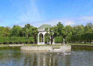 Photo: We walked out of the old town to see Swan Lake in Kadriorg Park.