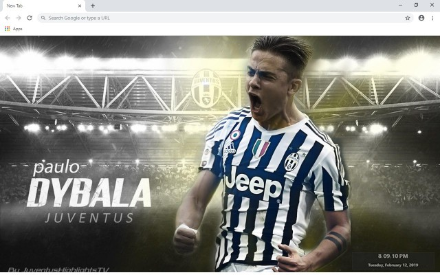 Paulo Dybala New Tab & Wallpapers Collection