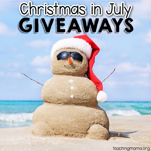 Christmas in July Giveaways