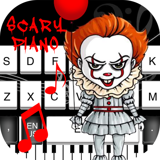 IT Clown Scary Piano Keyboard