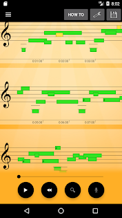 Ứng dụng Note Recognition - Convert Music into Sheet Music cho điện thoại Android screenshot