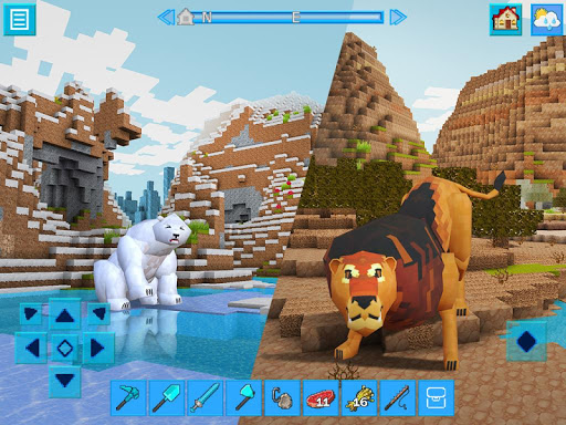 AdventureCraft: 3D Block Building & Survival Craft  18