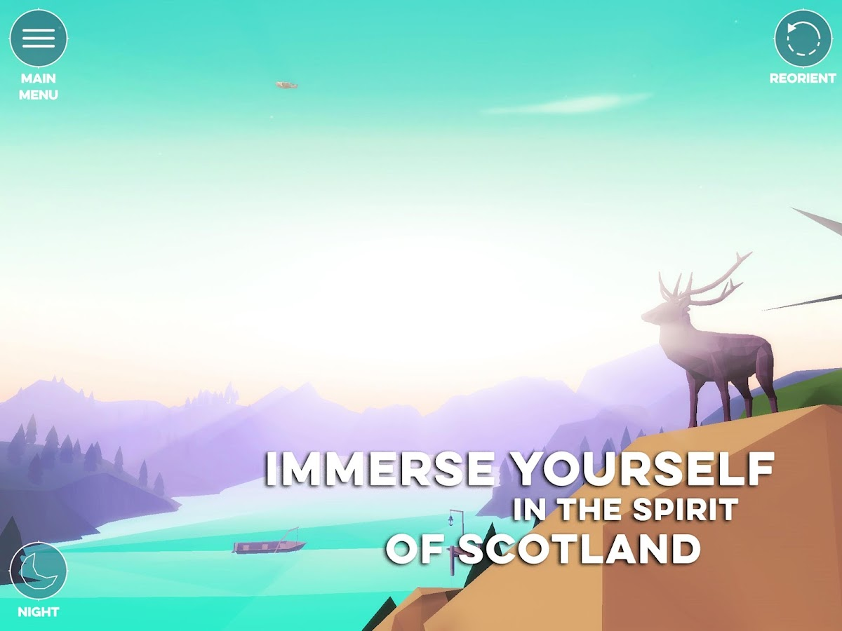 ScotlandVR – A Virtual Tour- screenshot