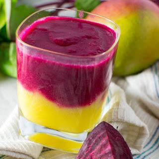 Sunrise Mango Beet Smoothie Recipe