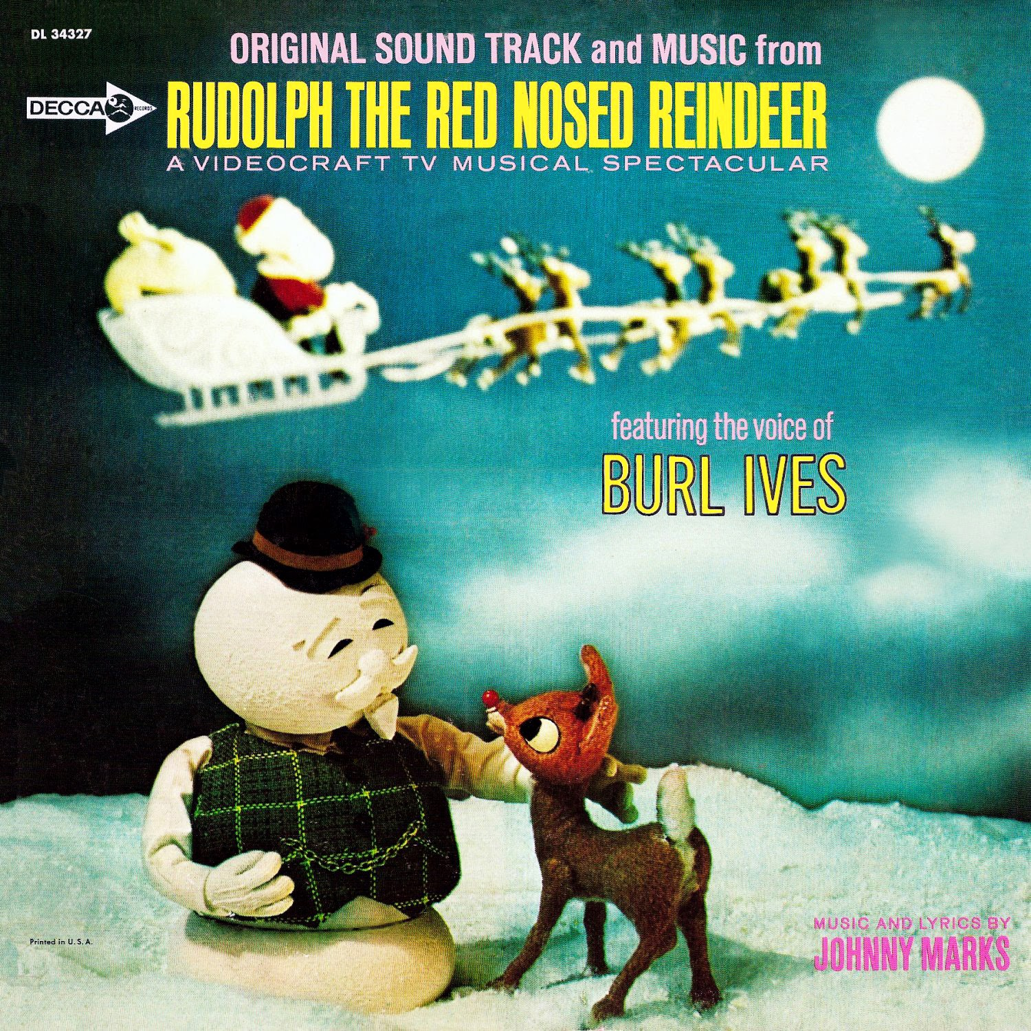 Burl Ives, Johnny Marks