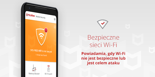 Mobile Security: antywirus, ochrona VPN Wi-Fi Screenshot