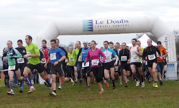 Photo: Départ course élite