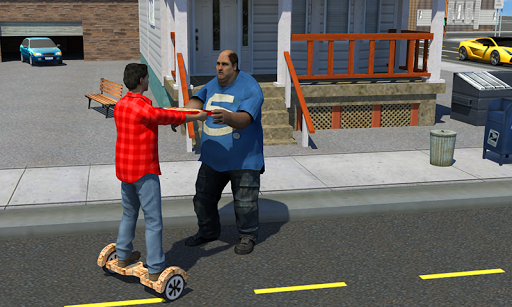 Hoverboard Pizza Delivery Sim