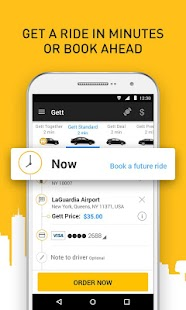 Gett - Car Service & Rideshare- screenshot thumbnail