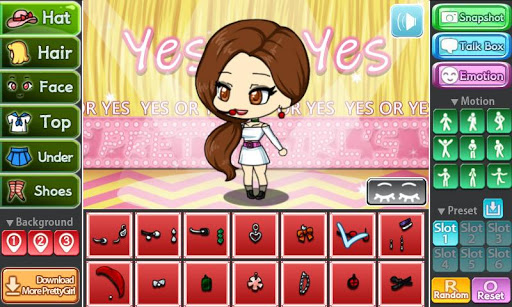 Yes or Yes Pretty Girl 1.0.0 screenshots 1