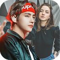 Selfie with Kim Taehyung Wallpapers icon