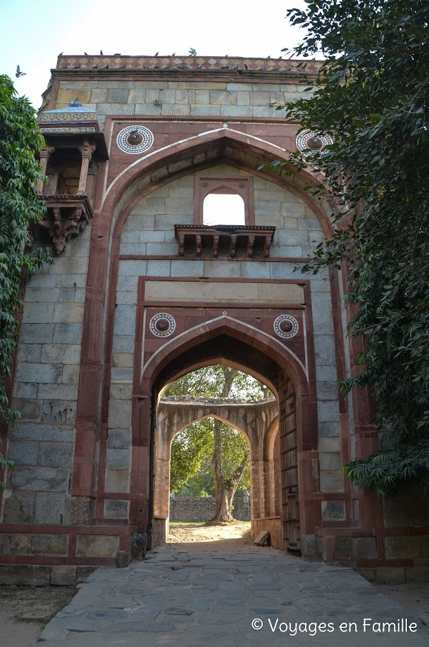 Porte nord sérail arabe - Humayun's