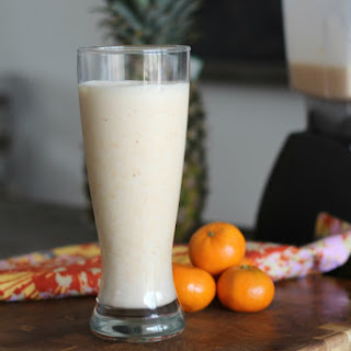 Mandarin Dreamsicle Protein Shake Recipe