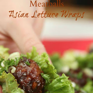 Asian Inspired Johnsonville® Meatball Lettuce Wraps
