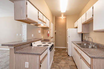 Go to A2 - One Bed, One Bath Floorplan page.